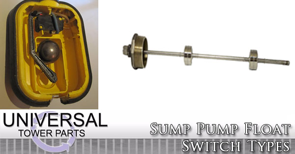 Sump Pump Float Switch Types